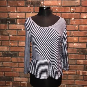 💙🍁Habitat Striped Soft Tee Long Sleeved